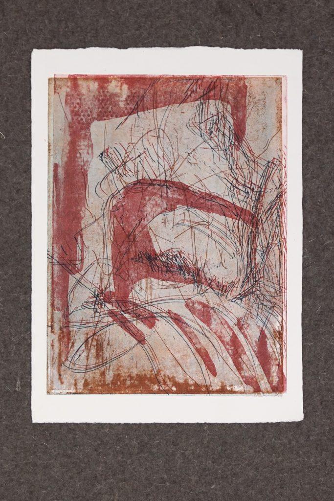 SUCHEN UND FINDEN_1, Kaltnadel und Aquatinta auf 300g Hahnemühle Kupferdruckkarton, ca.30x40cm, 2017