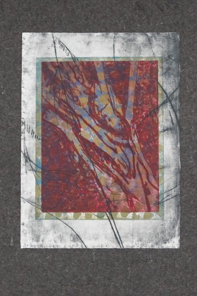 SUCHEN UND FINDEN_6, Kaltnadel und Aquatinta auf 300g Hahnemühle Kupferdruckkarton, ca.30x40cm, 2017