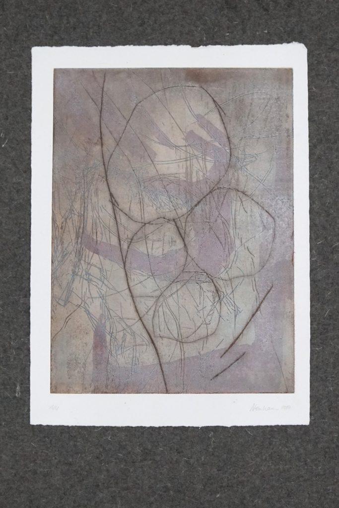 SUCHEN UND FINDEN_7, Kaltnadel und Aquatinta auf 300g Hahnemühle Kupferdruckkarton, ca.30x40cm, 2017